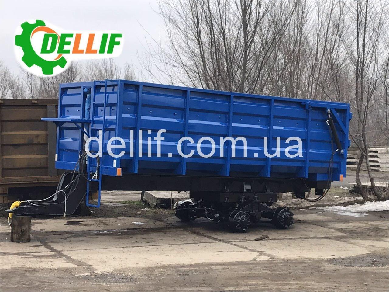 Прицеп тракторный 2 ПТС-16 - Деллиф