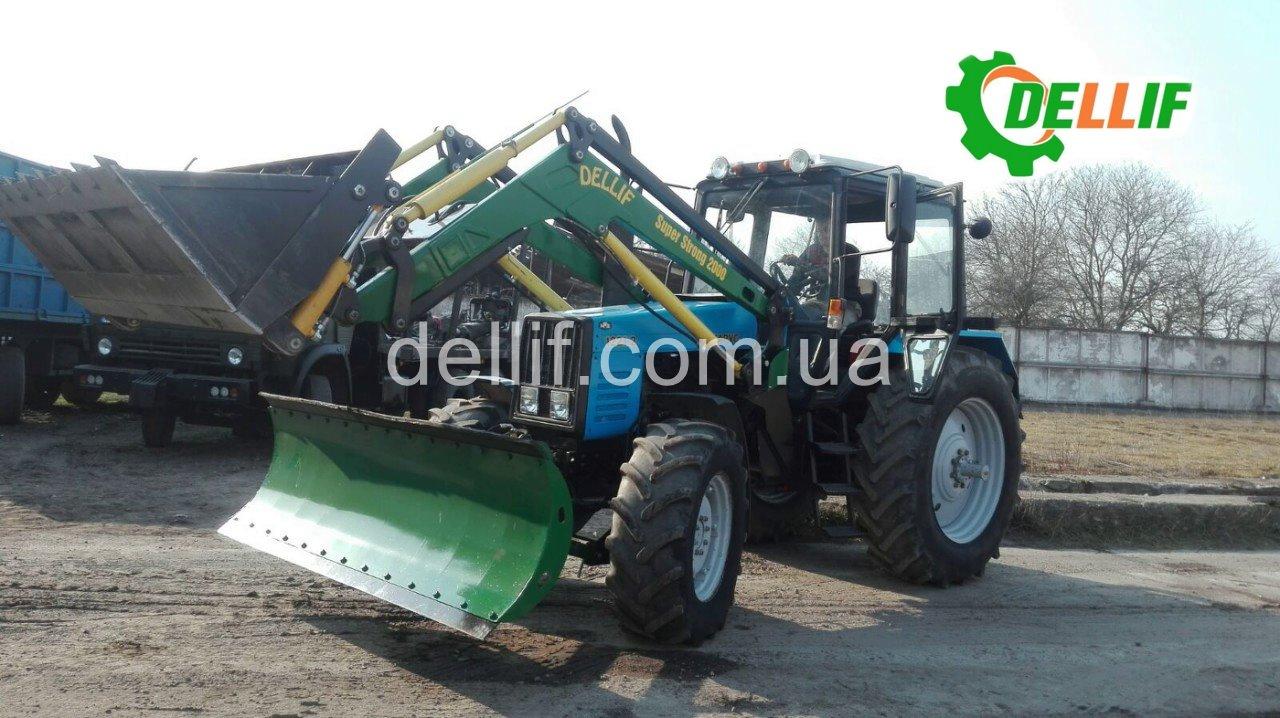 Погрузчик на трактор МТЗ 1221, 1523 - Деллиф Супер Стронг 2000