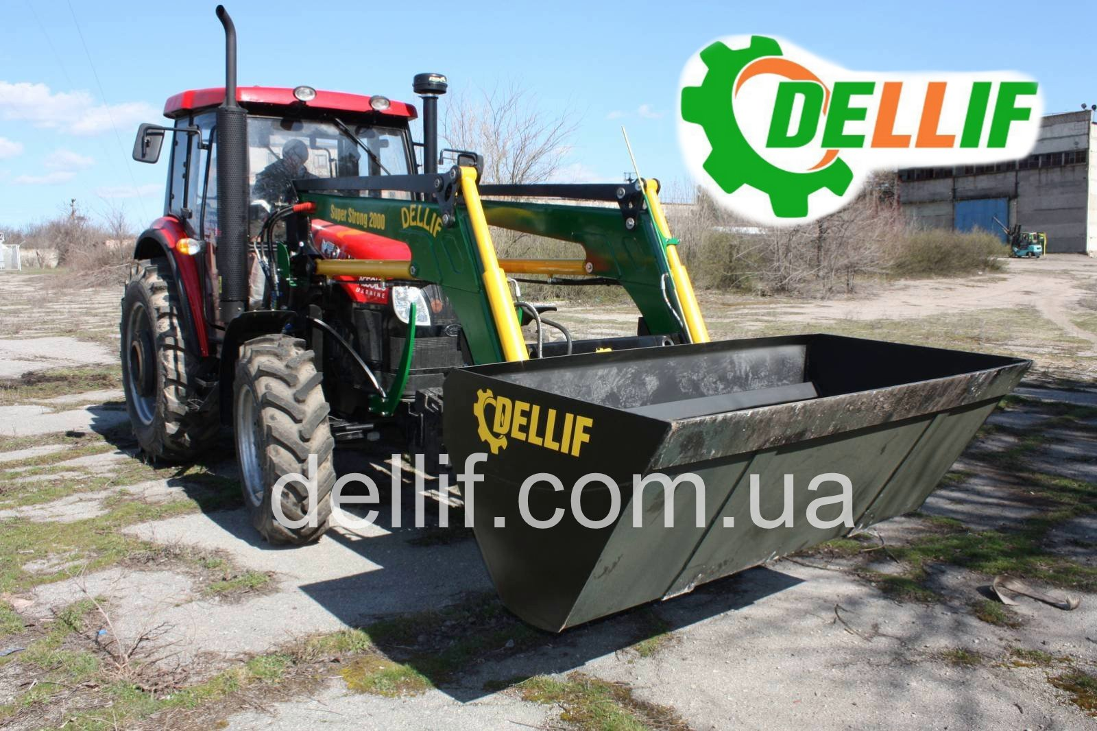 Кун на трактор Yto 954 (юто) - Деллиф Супер Стронг 2000