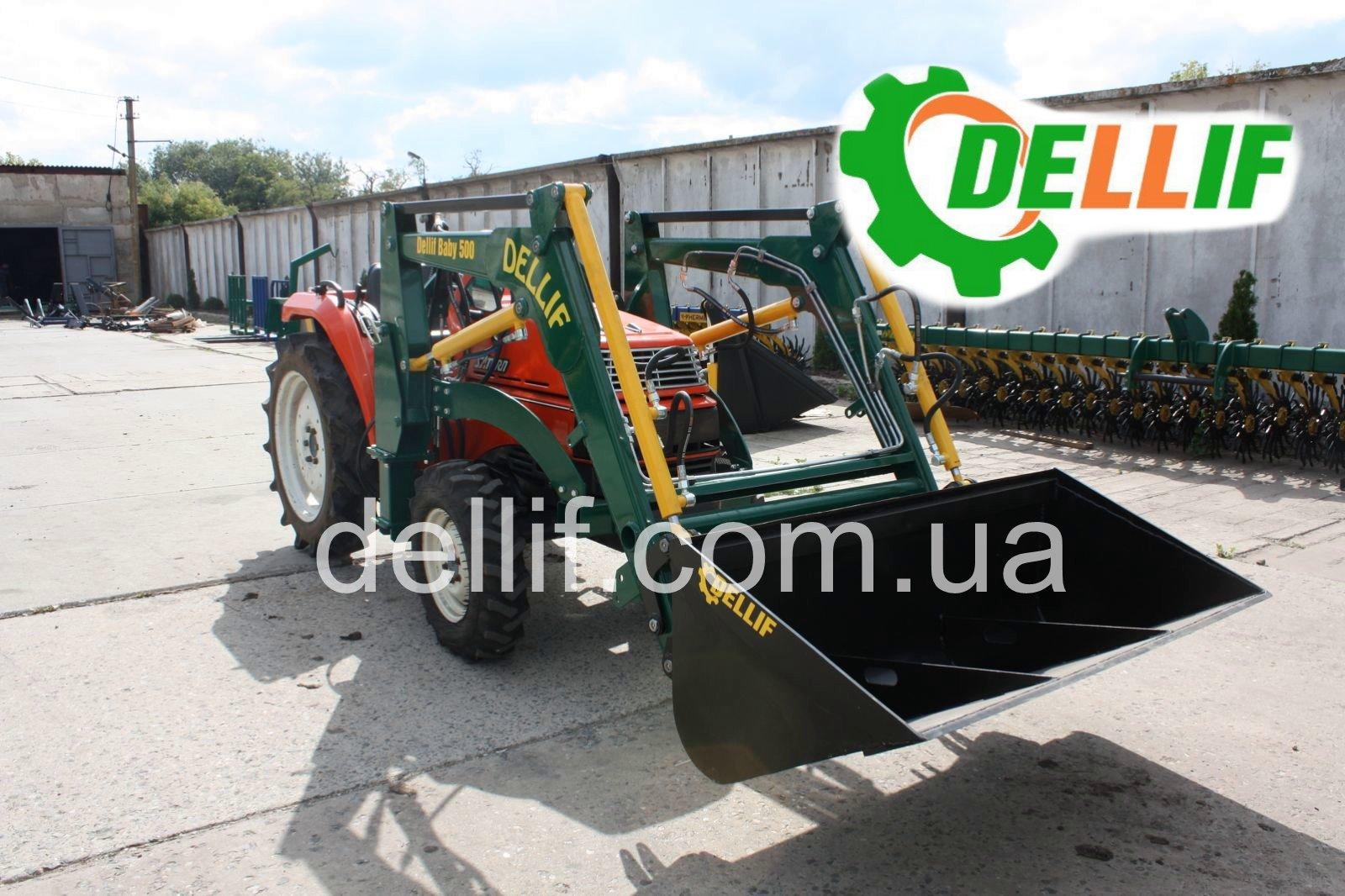 Погрузчик на мини-трактор (24- 40 л.с.) - кун Деллиф Бейби 500