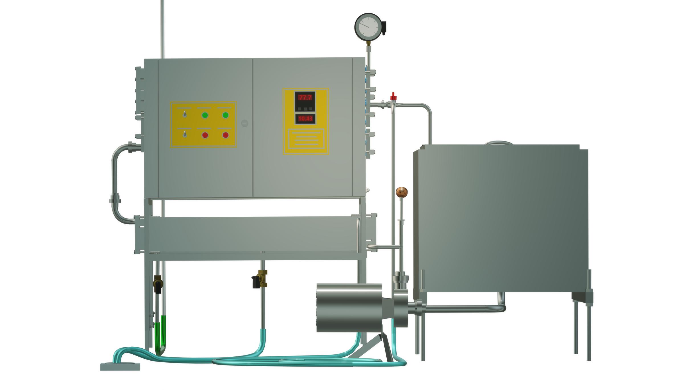Пастеризатор молока на 300 л УЗМ-0,3Е