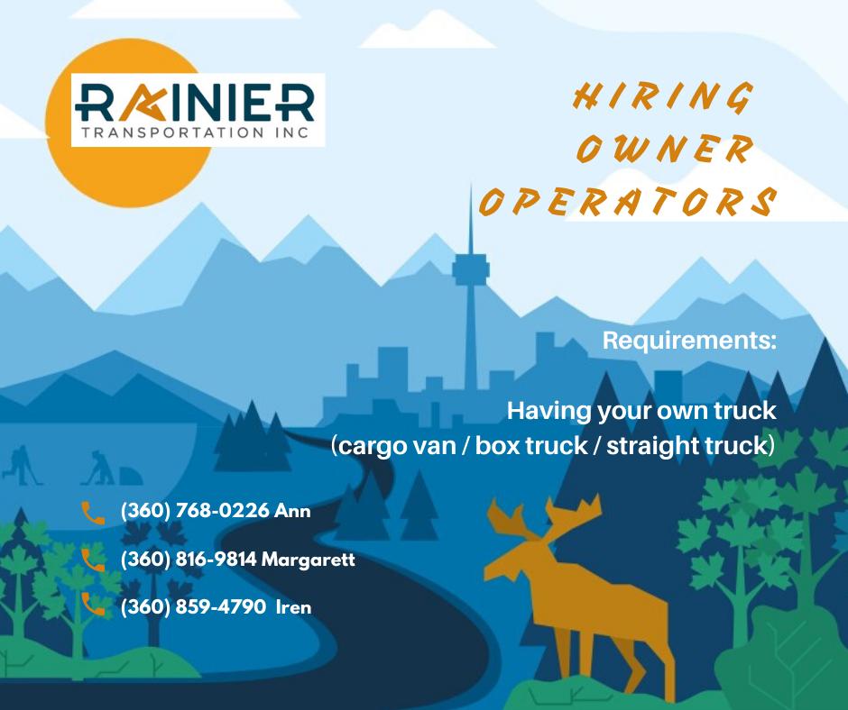 Приглашаем к сотрудничеству водителей с собственным грузовиком