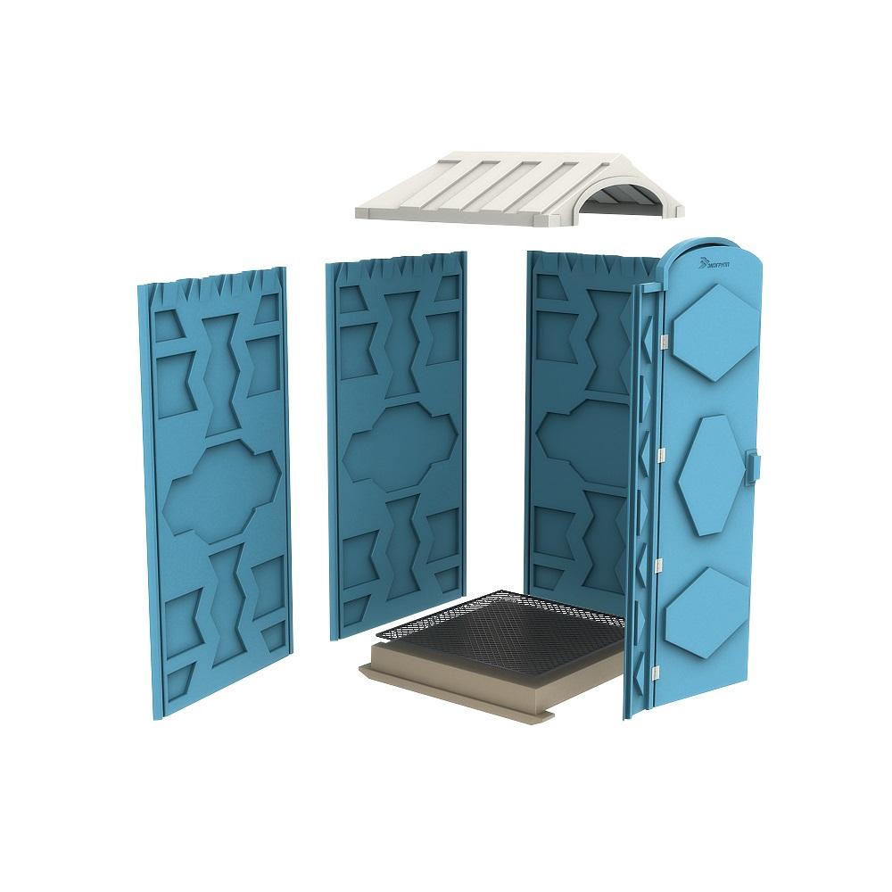 Новая туалетная кабина Ecostyle - экономьте деньги! Берлин.