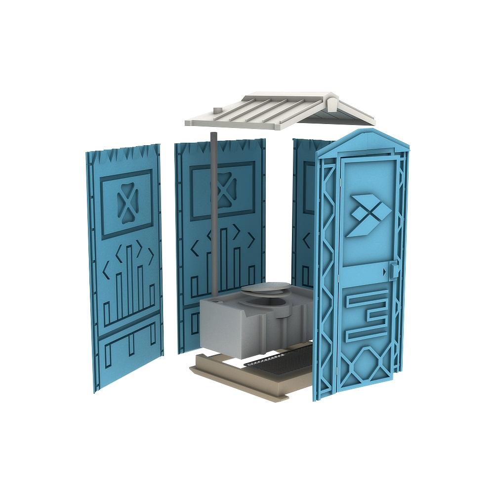 Новая туалетная кабина Ecostyle - экономьте деньги!Вашингтон