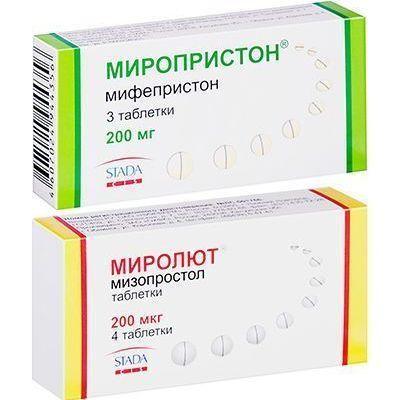 Мифепристон Медикаментозное прерывание беременности таблетки Mifepristone