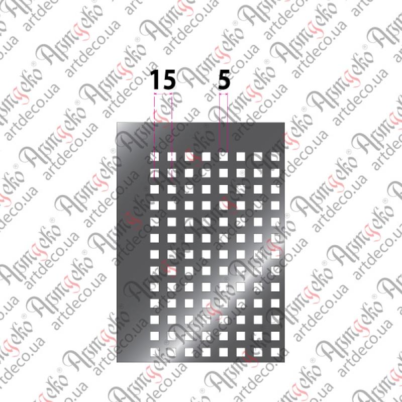 Перфорированный лист/ стальной лист с квадратными отверстиями