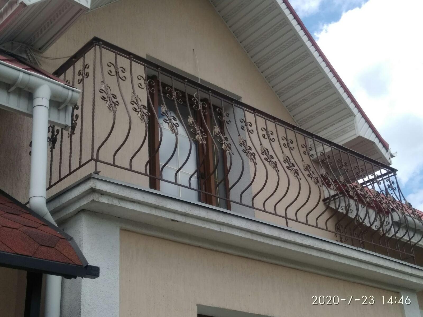 Кованные балясины для балконов и ограждений