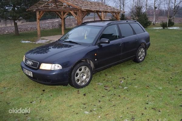 Разборка Audi a4 b5 универсал 1996