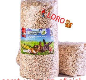 Наполнитель для домашних любимцев ЭКО кукурузный
