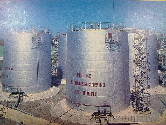 Резервуар 1000м3(РВС)