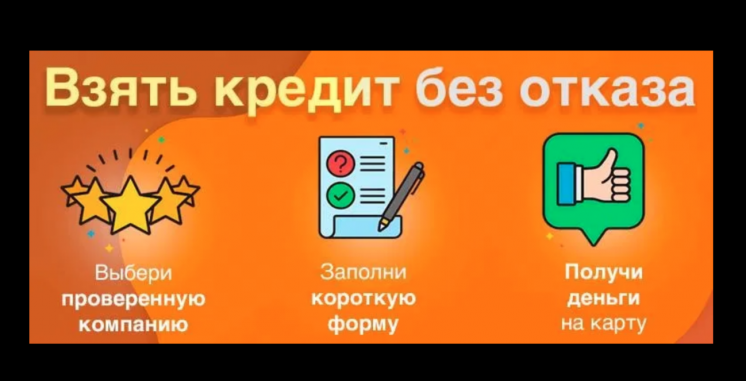 Кредит онлайн без процентов, без проверок за 8 минут