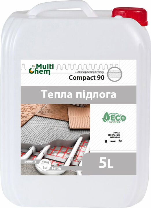 Compact 90 Euro Пластификатор бетона и тротуарной плитки