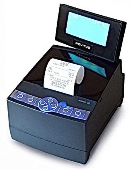 фискальный регистратор MG-N707TS для разных направлений среднего и малого бизнеса