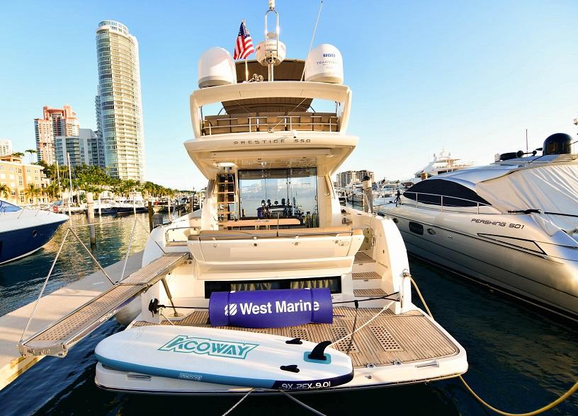 Новая Luxury яхта Prestige 550 Flybridge -58 fit в аренду