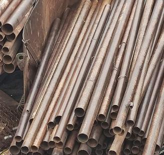 Трубы металлические б/у