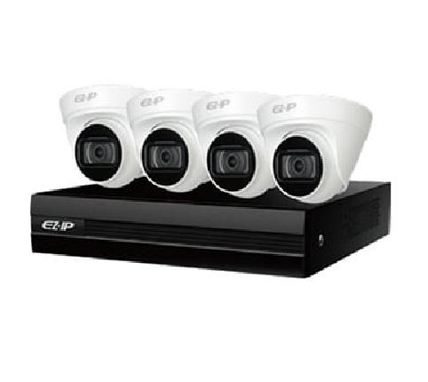 Комплект IP видеонаблюдения Ez-KIT
