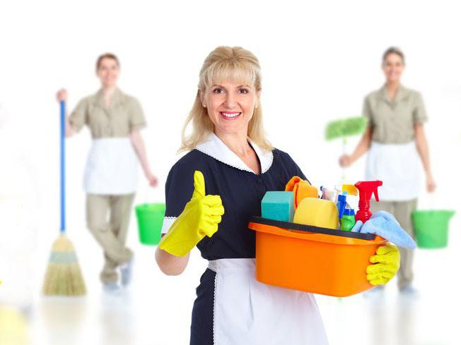 Набор квалифицированного домашнего персонала.
