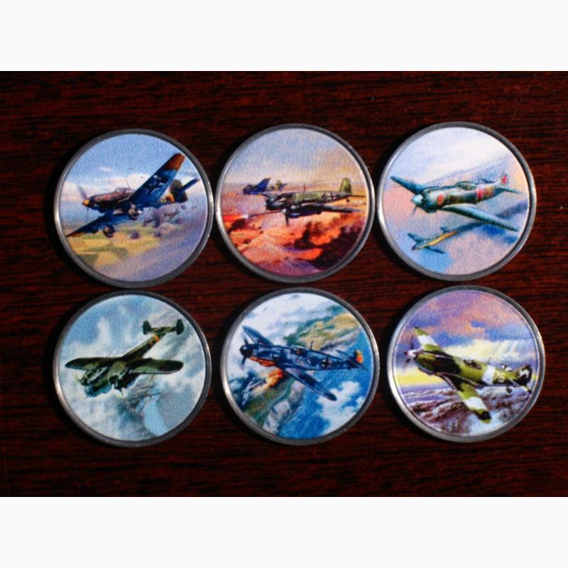 Набор монет Самолеты 2020 Родезия