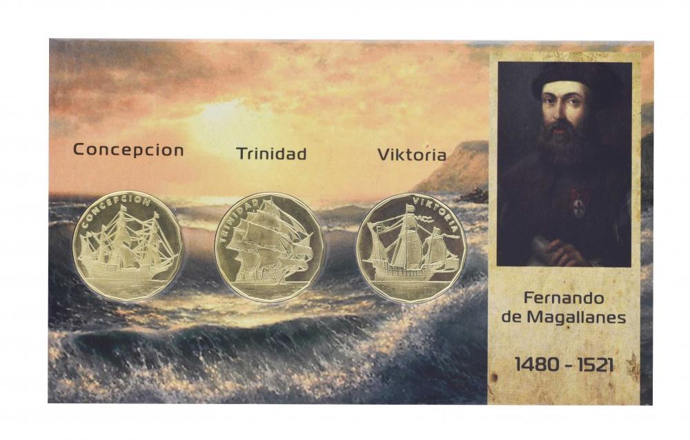 Набор монет Фернандо Магеллан 2020