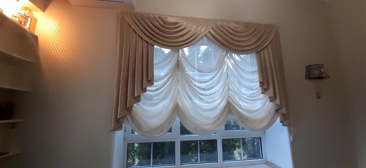 Дизайнерская помощь в выборе и пошиве штор
