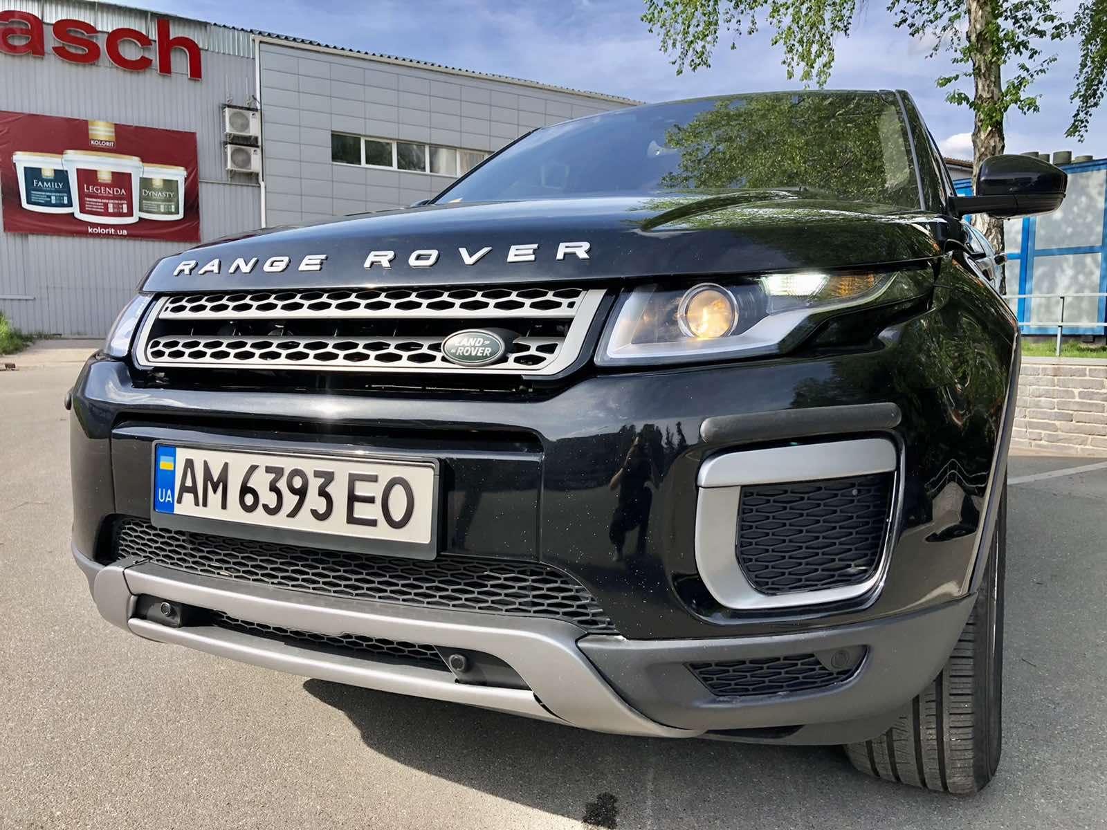 Range Rover Evoque 2016 - британский шик