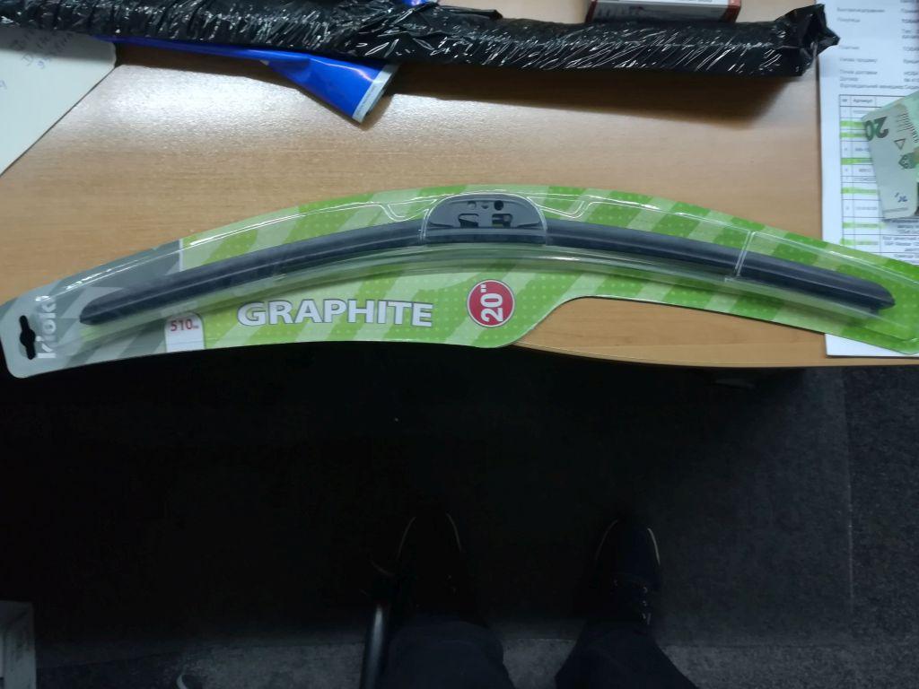 Щетка стеклоочистителя бескаркасная Kioki 510 м