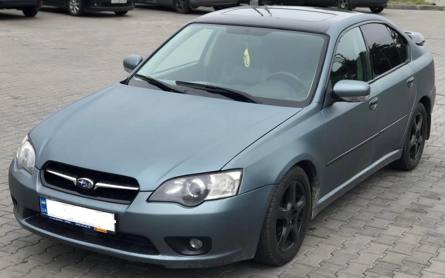 Аренда авто под выкуп Субару Легаси Киев без залога недорого