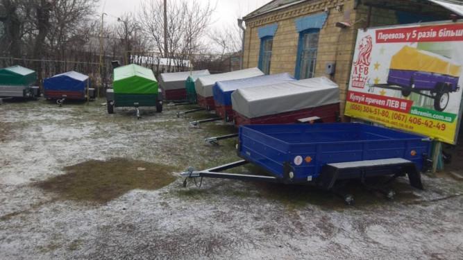 Кременчугский завод прицепов Лев, база Зеленьки6