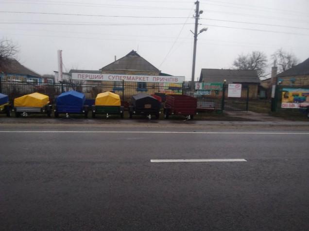 Кременчугский завод прицепов Лев, база Зеленьки7
