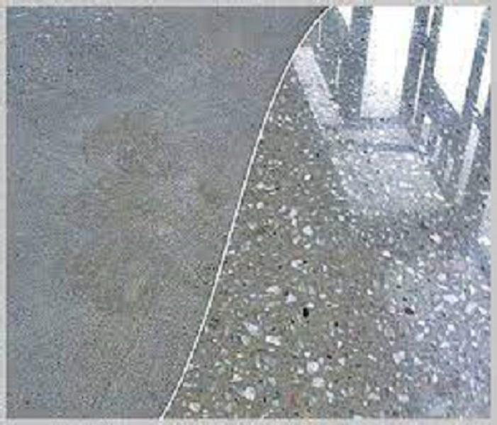 Алмазная шлифовка бетонных полов4