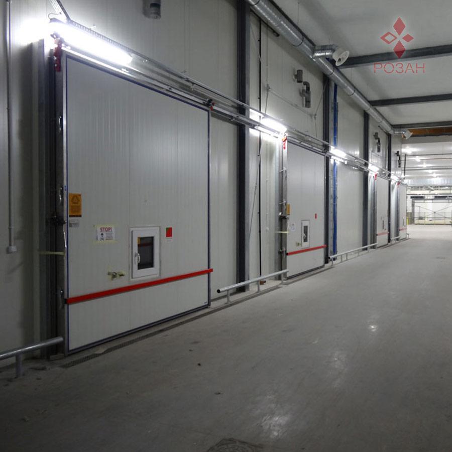 Морозильные двери для цехов охлаждения - Розан2