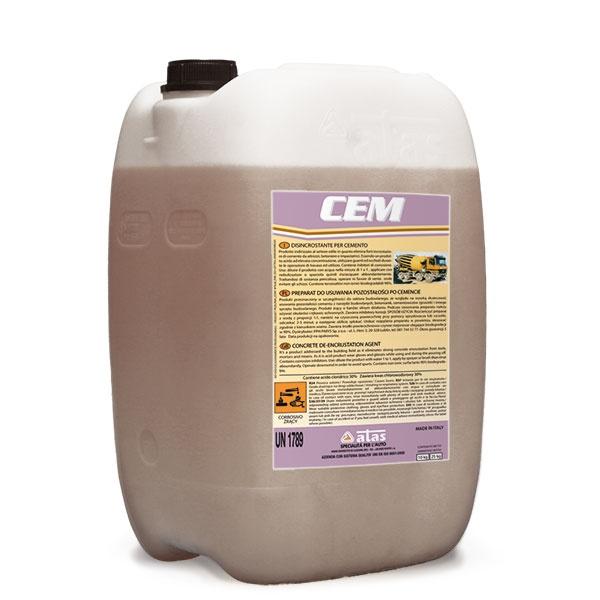 Средство для удаления цемента и цементно-известковых растворов CEM Atas (10 кг.)