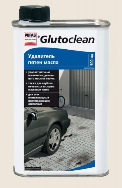 Удалитель пятен масла Glutoclean Pufas (0,5 л.)