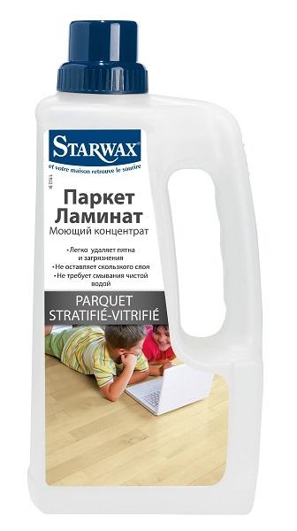 Концентрат для мытья паркета и ламината Starwax (1 л.)