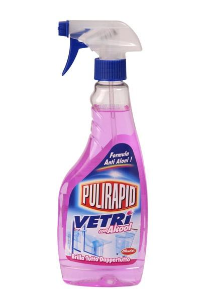 Средство для мытья окон и стекол Pulirapid (0,5 л.)