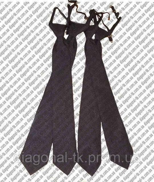 Галстук форменный черный