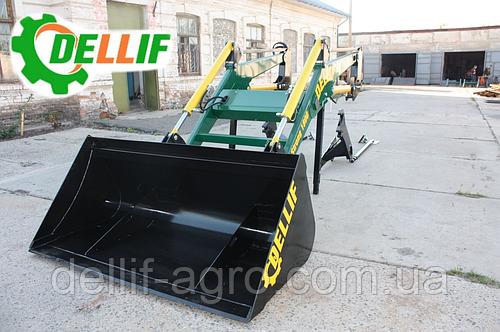 Ковш 1.8 метра для фронтальных погрузчиков Dellif на трактор МТЗ,ЮМЗ, Т 40