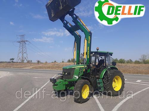 Погрузчик КУН на трактор John Deere ( Джон Дир) - Деллиф Супер Стронг 2000