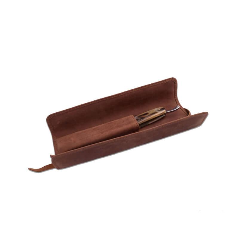Кожаный Чехол Для Бритвы Giesen&Forsthoff Vintage-Edition Roll Up 35018