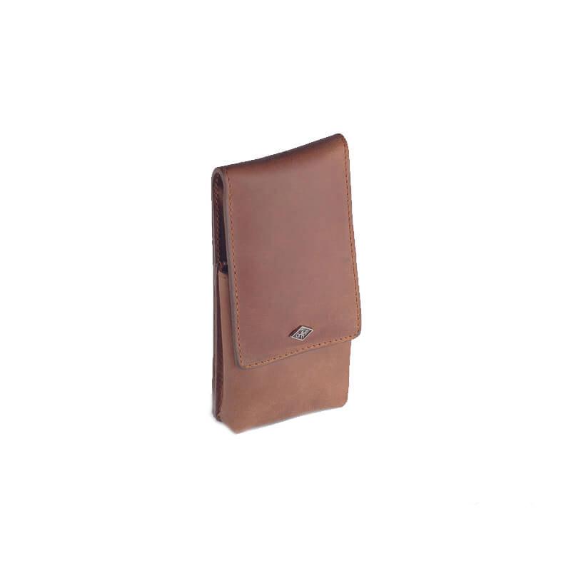 Кожаный Чехол Для Безопасной Бритвы Giesen&Forsthoff Vintage-Edition 35014
