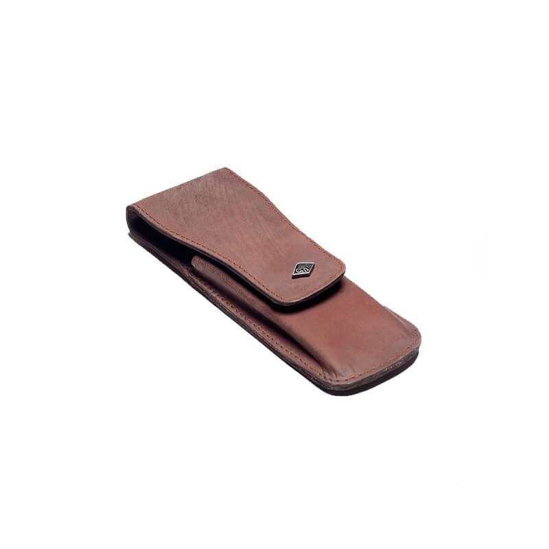Кожаный Чехол Для Безопасной Бритвы Giesen&Forsthoff Vintage-Edition 35015