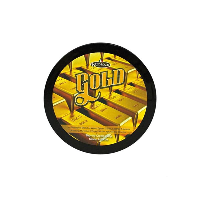 Мыло Для Бритья Razorock Gold Shaving Cream Soap 150 Мл