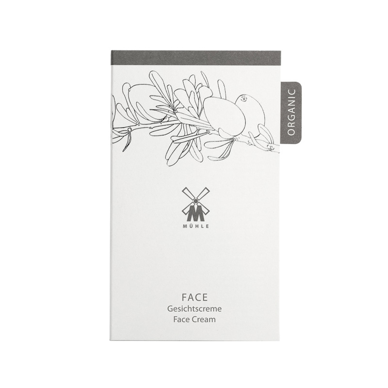 Тестер крема для лица Muhle Organic Face Cream