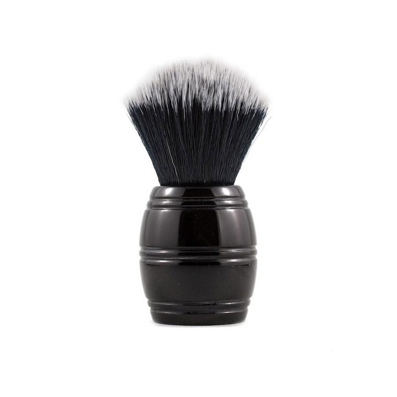 Помазок для бритья RazoRock Tuxedo Plissoft Barrel Synthetic Brush 24 mm knot