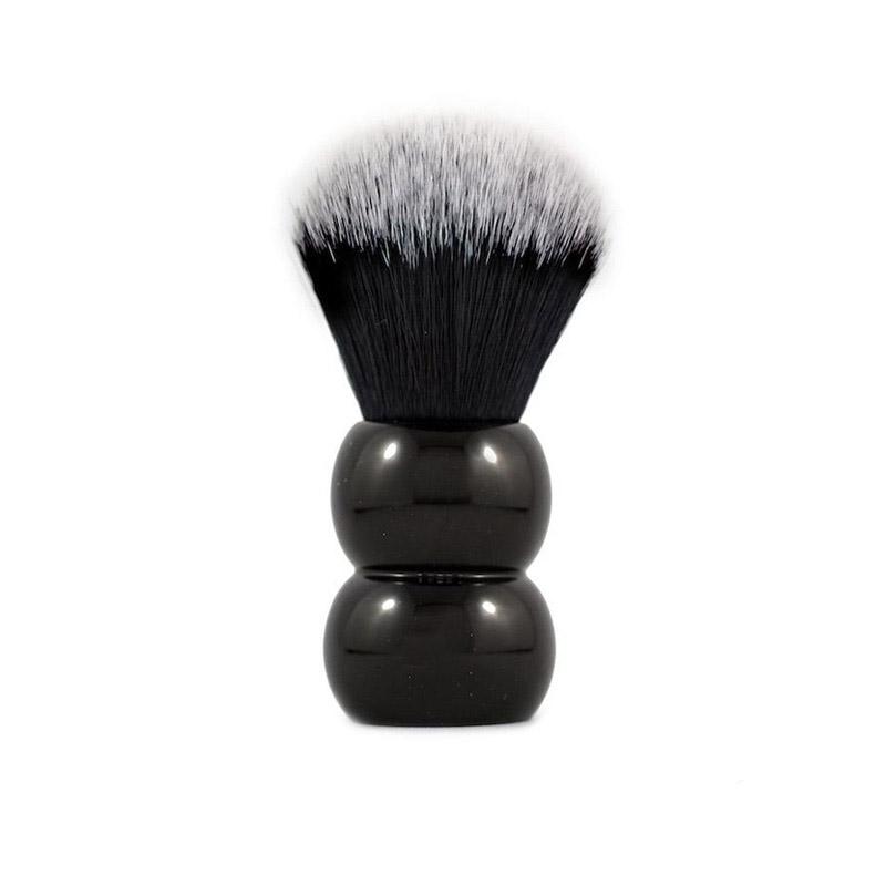 Помазок для бритья RazoRock Tuxedo Plissoft Snowman Synthetic Brush 24 mm knot