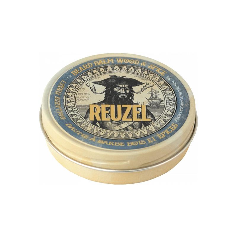 Бальзам для бороды Reuzel Beard Balm Wood & Spice 35 g