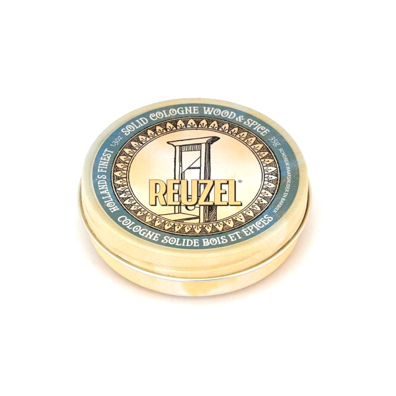 Одеколон Твердый Reuzel Solid Cologne Wood&Spice 35 гр