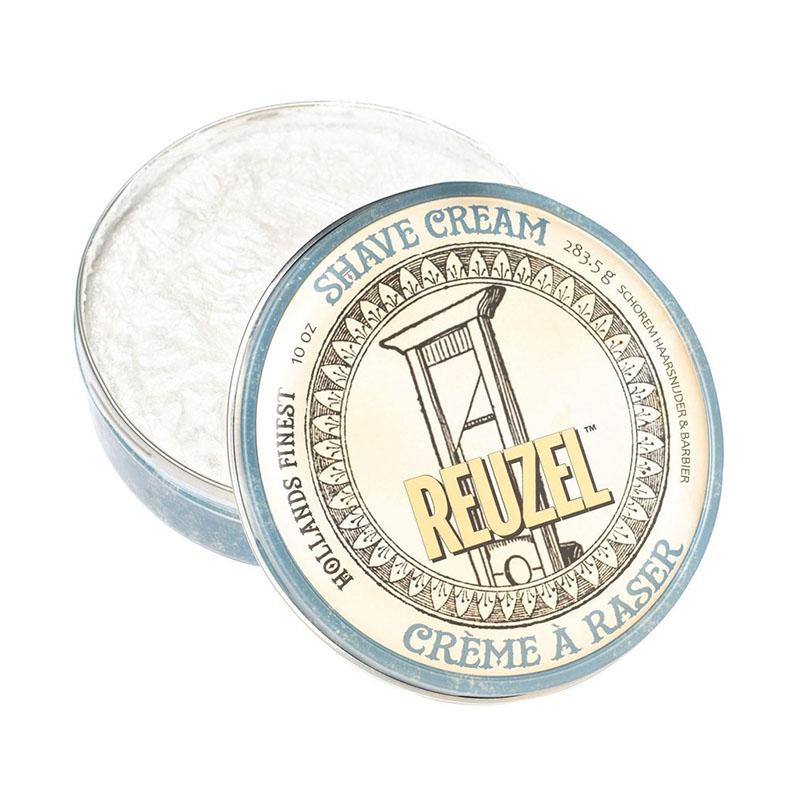 Reuzel Shaving cream Крем для бритья розмарин и ромашка для чувствительной и сухой кожи 283,5 г