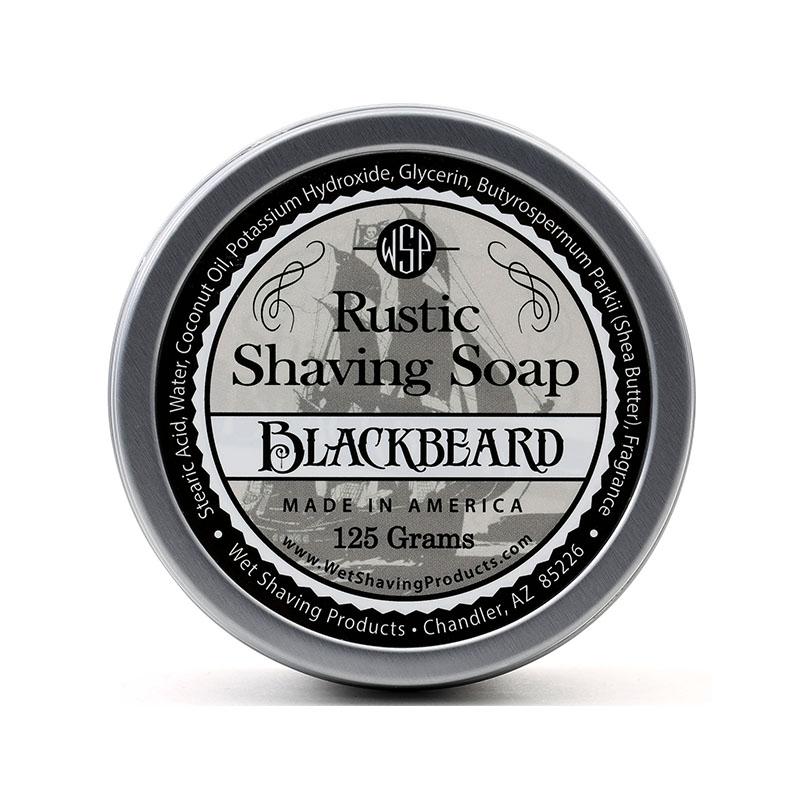 Мыло Для Бритья Wsp Rustic Shaving Soap Black Beard 125 г