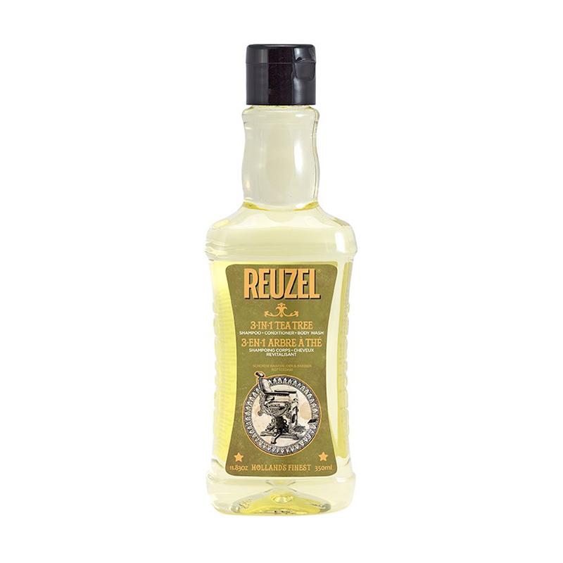 Шампунь (3 в 1) Reuzel Tea Tree Shampoo, Conditioner And Body Wash 350 мл